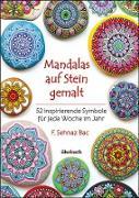 Mandalas auf Stein gemalt