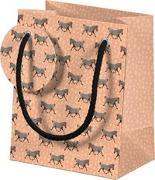 Tiere Afrikas Geschenktüten-Set - Motiv Zebra