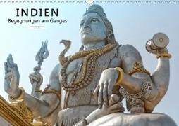 Indien - Begegnungen am Ganges (Wandkalender 2020 DIN A3 quer)