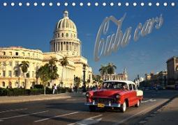 Cuba Cars (Tischkalender 2020 DIN A5 quer)
