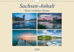 Sachsen-Anhalt - Meine vielfältige Heimat (Wandkalender 2020 DIN A4 quer)