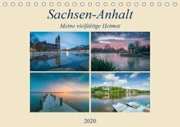 Sachsen-Anhalt - Meine vielfältige Heimat (Tischkalender 2020 DIN A5 quer)