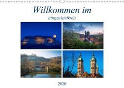 Willkommen im Burgenlandkreis (Wandkalender 2020 DIN A3 quer)