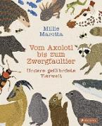 Vom Axolotl zum Zwergfaultier