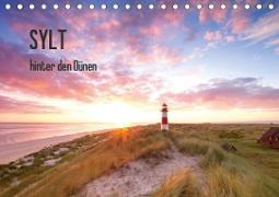 SYLT hinter den Dünen (Tischkalender 2020 DIN A5 quer)