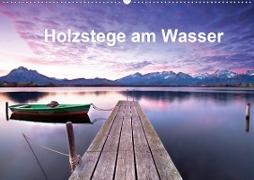 Holzstege am Wasser (Wandkalender 2020 DIN A2 quer)