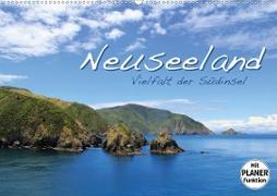 Neuseeland - Vielfalt der Südinsel (Wandkalender 2020 DIN A2 quer)