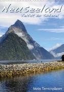 Neuseeland - Vielfalt der Südinsel (Wandkalender 2020 DIN A2 hoch)