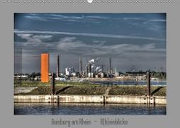 Duisburg am Rhein - R(h)einblicke (Wandkalender 2020 DIN A2 quer)