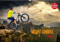 Mountainbike Trails (Wandkalender 2020 DIN A2 quer)