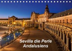Sevilla die Perle Andalusiens (Tischkalender 2020 DIN A5 quer)