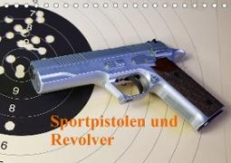 Sportpistolen und Revolver (Tischkalender 2020 DIN A5 quer)