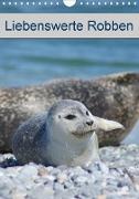 Liebenswerte Robben (Wandkalender 2020 DIN A4 hoch)
