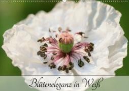 Blüteneleganz in Weiß (Wandkalender 2020 DIN A2 quer)