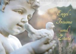 Engel - Träume und Zitate (Wandkalender 2020 DIN A3 quer)
