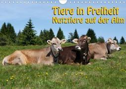 Tiere in Freiheit - Nutztiere auf der Alm (Wandkalender 2020 DIN A4 quer)