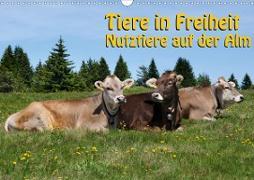 Tiere in Freiheit - Nutztiere auf der Alm (Wandkalender 2020 DIN A3 quer)