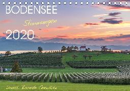 Bodensee - Stimmungen (Tischkalender 2020 DIN A5 quer)