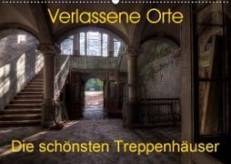 Verlassene Orte - Die schönsten Treppenhäuser (Wandkalender 2020 DIN A2 quer)