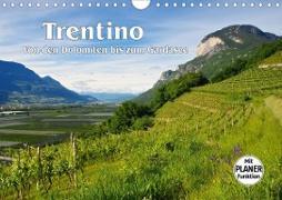 Trentino - Von den Dolomiten bis zum Gardasee (Wandkalender 2020 DIN A4 quer)