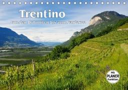 Trentino - Von den Dolomiten bis zum Gardasee (Tischkalender 2020 DIN A5 quer)