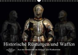 Historische Rüstungen und Waffen (Wandkalender 2020 DIN A3 quer)