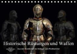 Historische Rüstungen und Waffen (Tischkalender 2020 DIN A5 quer)
