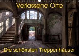 Verlassene Orte - Die schönsten Treppenhäuser (Wandkalender 2020 DIN A3 quer)