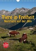 Tiere in Freiheit - Nutztiere auf der Alm (Wandkalender 2020 DIN A4 hoch)