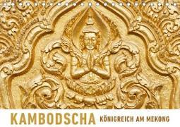 Kambodscha Königreich am MekongAT-Version (Tischkalender 2020 DIN A5 quer)