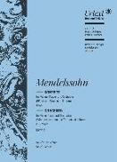 Konzert für Violine, Klavier und Orchester d-Moll MWV 4