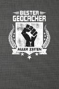 Bester Geocacher Aller Zeiten: Punktiertes Notizbuch Mit 120 Seiten Zum Festhalten Für Eintragungen Aller Art