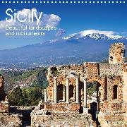 Sicily - Beautiful landscapes and monuments (Wall Calendar 2020 300 × 300 mm Square)