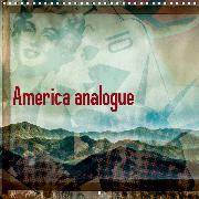 America analogue (Wall Calendar 2020 300 × 300 mm Square)
