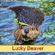 Lucky Beaver (Wall Calendar 2020 300 × 300 mm Square)