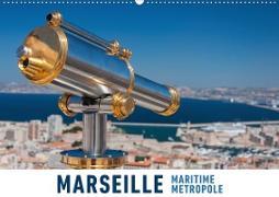 Marseille Maritime Metropole (Wandkalender 2020 DIN A2 quer)