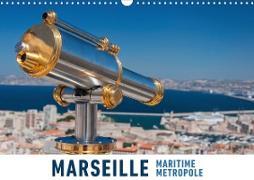 Marseille Maritime Metropole (Wandkalender 2020 DIN A3 quer)