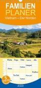 Vietnam - Der Norden - Familienplaner hoch (Wandkalender 2020 , 21 cm x 45 cm, hoch)