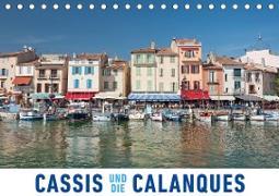 Cassis und die Calanques (Tischkalender 2020 DIN A5 quer)