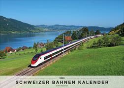 Schweizer Bahnen Kalender 2020