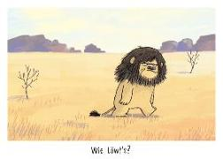 """Warum heißt der Löwe Löwe? - Postkartenset """"Löwe"""""""