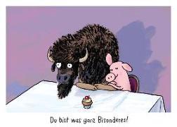 """Warum heißt der Löwe Löwe? - Postkartenset """"Bison"""""""