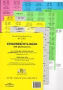 STEUERRICHTLINIEN Dürckheim-Griffregister Nr. 2351 (2019/170. EL) mit Stichworten aus der Gesetzesüberschrift