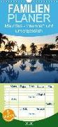 Mauritius - traumhaft und unvergesslich - Familienplaner hoch (Wandkalender 2020 , 21 cm x 45 cm, hoch)