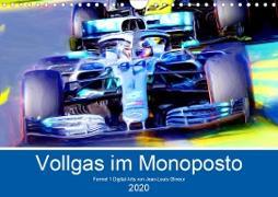 Vollgas im Monoposto (Wandkalender 2020 DIN A4 quer)