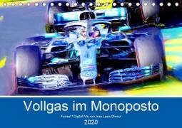 Vollgas im Monoposto (Tischkalender 2020 DIN A5 quer)