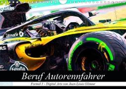 Beruf Autorennfahrer (Wandkalender 2020 DIN A4 quer)