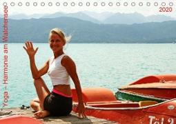 Yoga - Harmonie am Walchensee (Tischkalender 2020 DIN A5 quer)