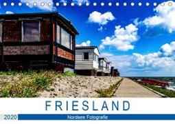 F R I E S L A N D Nordsee Fotografie (Tischkalender 2020 DIN A5 quer)