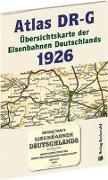 ATLAS DR-G 1926 - Übersichtskarte der Eisenbahnen Deutschlands